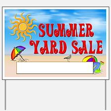 Summer Yard Sale Yard Sign