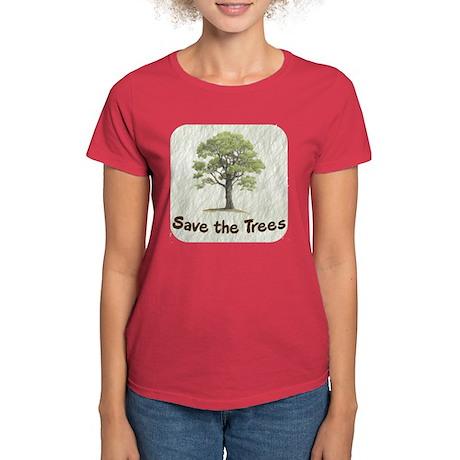 Save the Trees Women's Dark T-Shirt