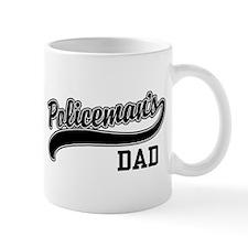 Policeman's Dad Mug