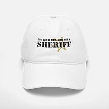 Feel Safe With A Sheriff Baseball Baseball Cap