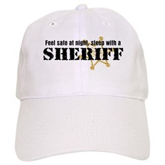 Feel Safe With A Sheriff Baseball Cap