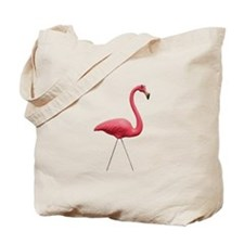 Retro Pink Flamingo Tote Bag