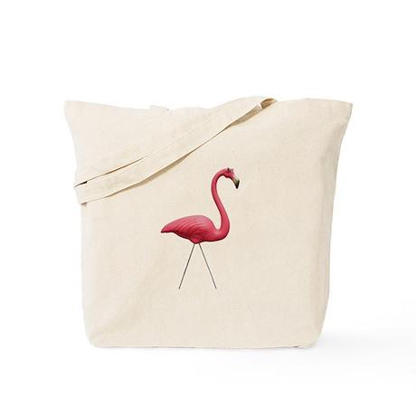 Retro Pink Flamingo Tote Bag