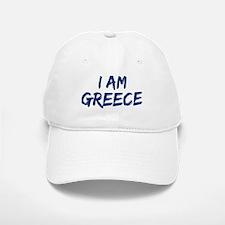 I am Greece Baseball Baseball Cap