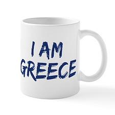 I am Greece Mug