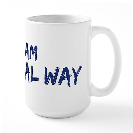 I am Federal Way Large Mug