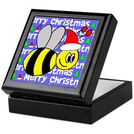 Christmas Bumble Bees Keepsake Box