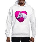 Arabian Horse Heart Hooded Sweatshirt