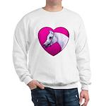Arabian Horse Heart Sweatshirt