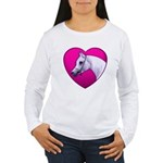 Arabian Horse Heart Women's Long Sleeve T-Shirt