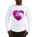 Arabian Horse Heart Long Sleeve T-Shirt
