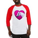 Arabian Horse Heart Baseball Jersey