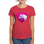 Arabian Horse Heart Women's Dark T-Shirt