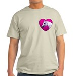 Arabian Horse Heart Light T-Shirt