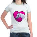 Arabian Horse Heart Jr. Ringer T-Shirt