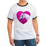 Arabian Horse Heart Ringer T