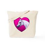 Arabian Horse Heart Tote Bag