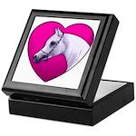 Arabian Horse Heart Keepsake Box