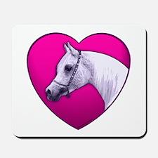 Arabian Horse Heart Mousepad