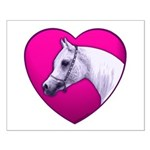 Arabian Horse Heart Small Poster