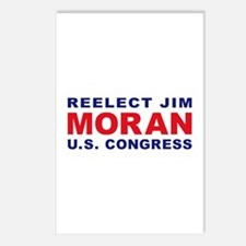Reelect Moran Postcards (Package of 8)