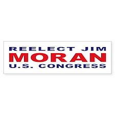 Reelect Moran Bumper Bumper Sticker