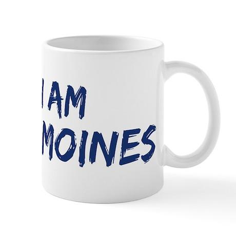 I am Des Moines Mug
