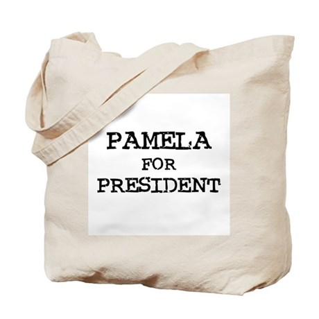 Pamela for President Tote Bag