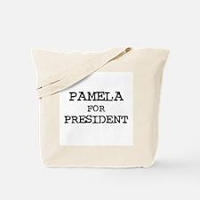 Pamela for President Tote Bag