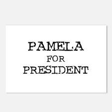 Pamela for President Postcards (Package of 8)