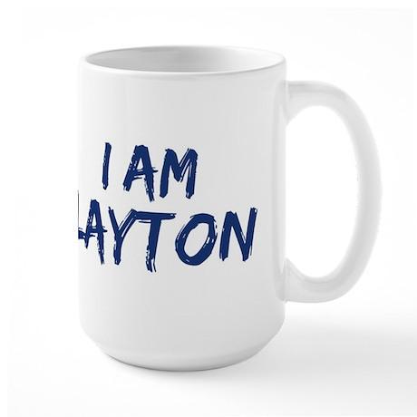 I am Layton Large Mug