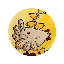 "I dig chicks 3.5"" Button (100 pack)"