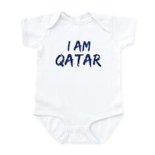 I am Qatar Infant Bodysuit