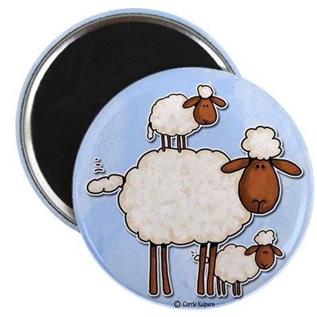 "love ewe (no txt) 2.25"" Magnet (100 pack)"