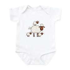 love ewe (no txt) Infant Bodysuit