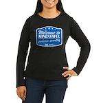 Gedcom Country Women's Long Sleeve Dark T-Shirt
