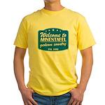Gedcom Country Yellow T-Shirt