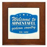 Gedcom Country Framed Tile