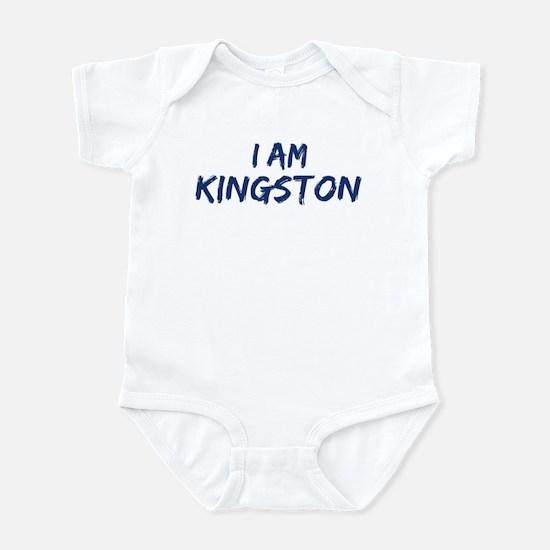 I am Kingston Infant Bodysuit