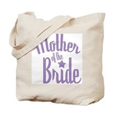 Mother of Bride:Classy Violet Tote Bag