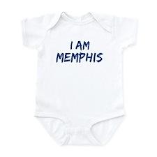 I am Memphis Infant Bodysuit