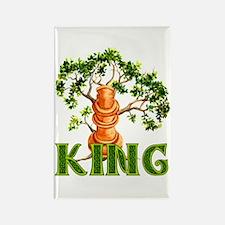 Pagan Chess King Rectangle Magnet