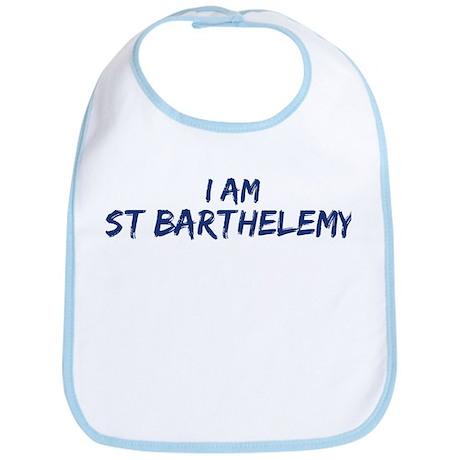 I am St Barthelemy Bib