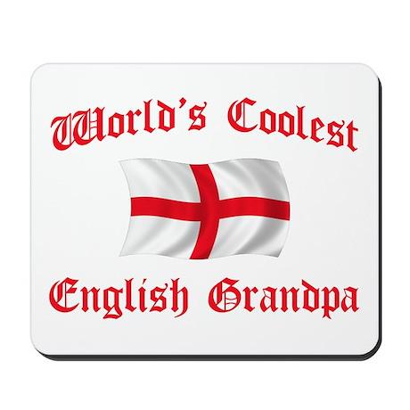 Coolest English Grandpa Mousepad