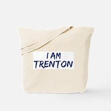 I am Trenton Tote Bag