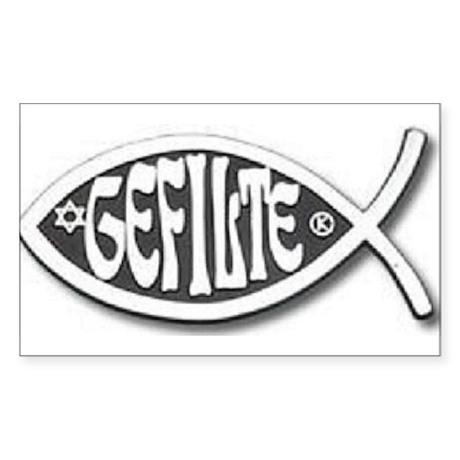 Great Gefilte Rectangle Sticker