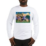 St Francis/Shar Pei #5 Long Sleeve T-Shirt