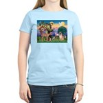 St Francis/Shar Pei #5 Women's Light T-Shirt
