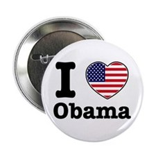 "I love Obama 2.25"" Button (100 pack)"