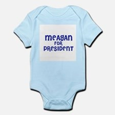 Meagan for President Infant Creeper